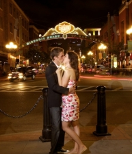 engagement-photography-downtown-kiss-san-diego