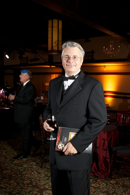 photo of KPBS personality Erik Anderson at the KPBS gala