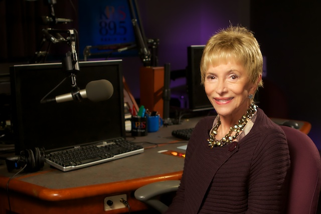 portrait of San Diego radio personality Gloria Penner